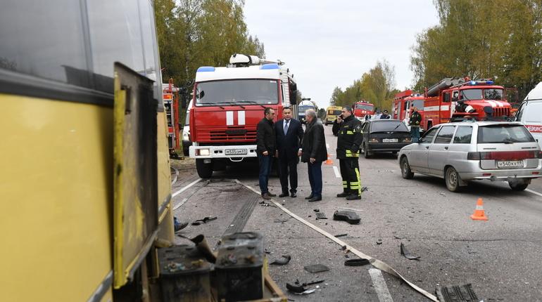 СК возбудил дело после аварии с 13 погибшими в Тверской области