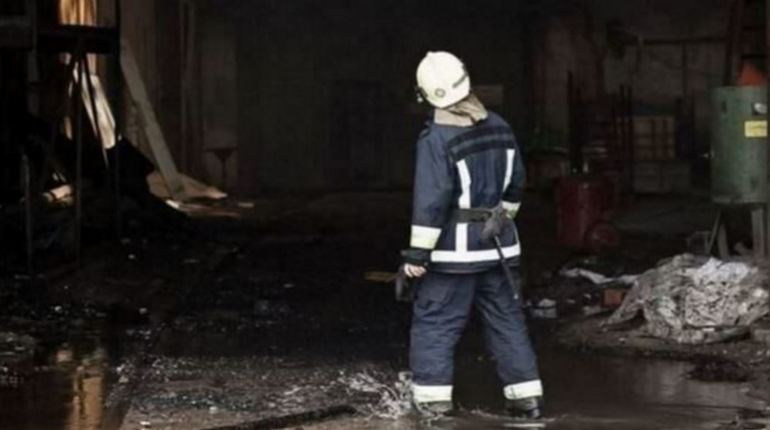 В Мшинском массиве сгорел садовый дом