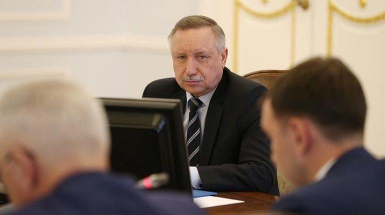 Беглов остался недоволен строительством в Петербурге