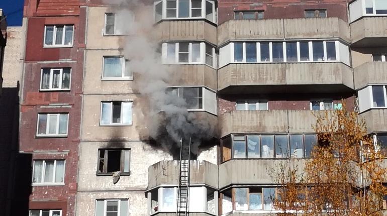 В Приморском районе в доме 32 по улице Камышовой случился пожар в однокомнатной квартире, сообщает ГУ МЧС по Петербургу.