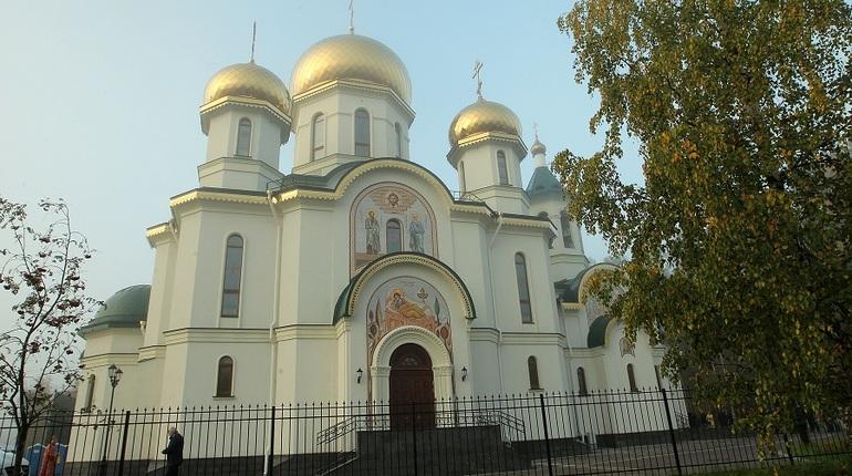 Макаров открыл новый храм в Приморском районе