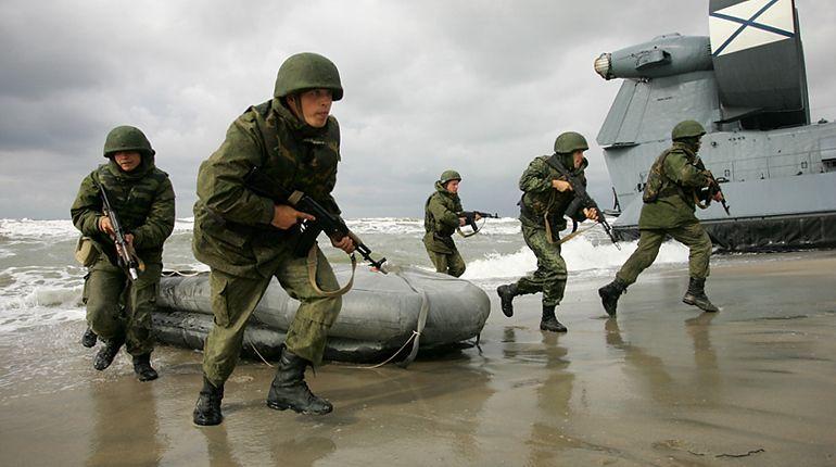 ВПетербурге морские пехотинцы предотвратили «захват» судна вФинском заливе