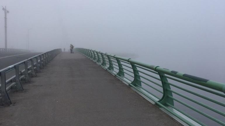 Горожане сравнили Петербург с «туманным Альбионом»