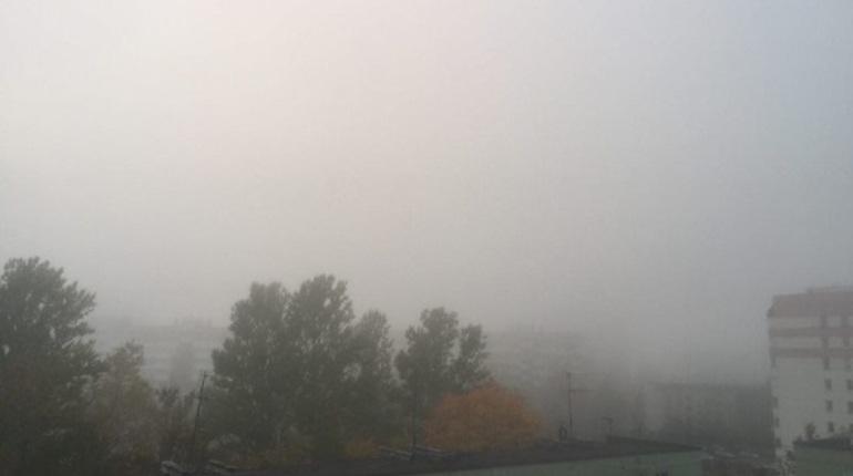 Туман задержится в Петербурге на выходные