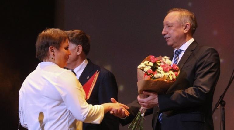 В БКЗ «Октябрьский» поздравили работников сельского хозяйства