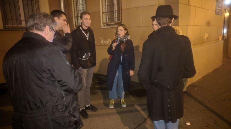В Петербурге задержали шестерых активистов из Москвы