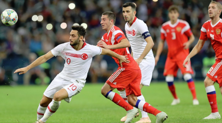 Черышев удвоил отрыв от Турции в матче Лиги Нацией