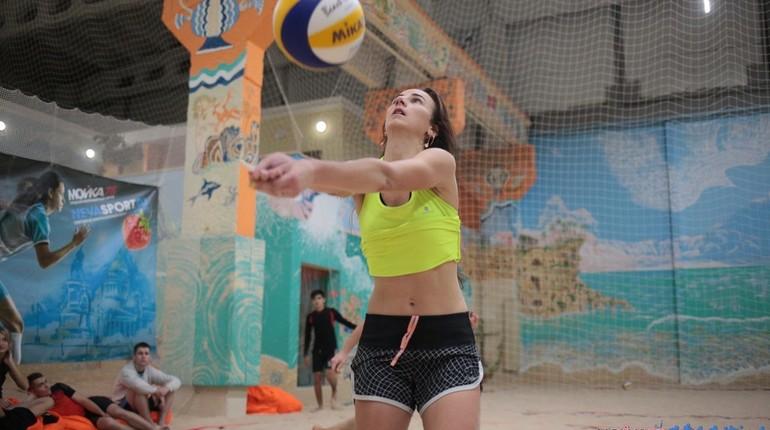 Турнир по пляжному волейболу, организованный при поддержке интернет-портала