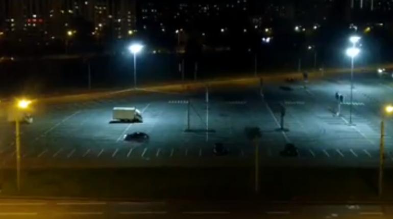 Ночной Дрифт в Логойске — Nissan 200SX, 2.0 л., 1994 года на ... | 430x770
