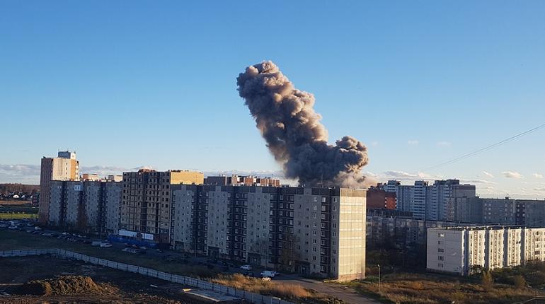 В ГУ МЧС по Ленобласти подтвердили, что в Гатчине взорвался пиротехнический завод