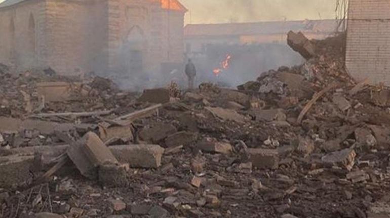 Названа причина взрыва на заводе в Гатчине
