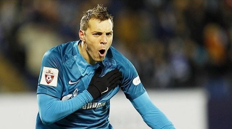 «Зенит» вышел на поле против «Динамо»