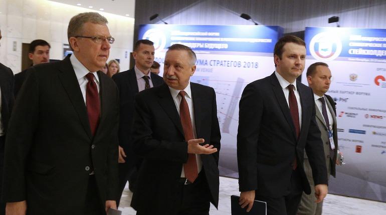 Беглов: Петербург — первый город в РФ, где приняли стратегический план