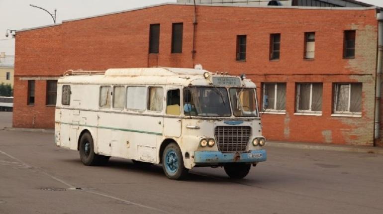 В коллекции исторических автобусов петербургского ГУП