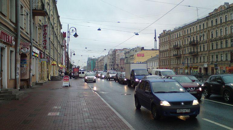 Движение по Лиговскому проспекту ограничат на три недели