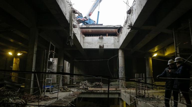 На заседании бюджетно-финансового комитета Законодательного собрания в Петербурге заявили, что часть работ по строительству Фрунзенского радиуса перенесут на следующий год.