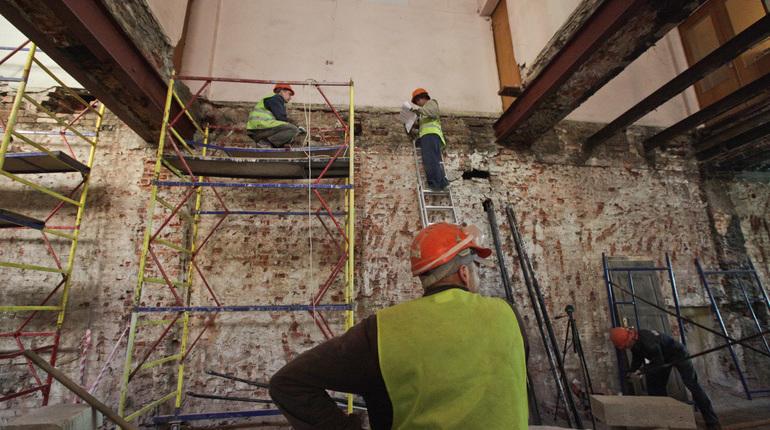 Фонд капремонта отремонтирует в Петербурге 71 фасад зданий, которые являются объектами культурного наследия.