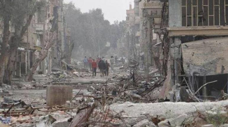 Международная коалиция нанесла очередной авиаудар. В очередной раз под огонь попала деревня ас-Суса, находящаяся в сирийской провинции Дейр-эз-Зор.