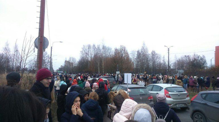 Два университета в Петербурге эвакуировали из-за «бомбы»