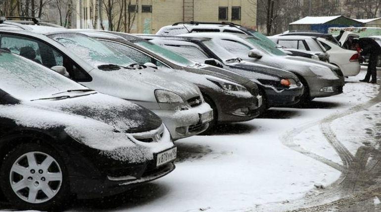 В субботу Ленобласть припорошит снег и окутает туман