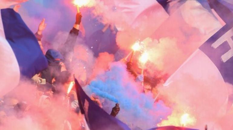 Беспорядки с участием болельщиков произошли на матче берлинской