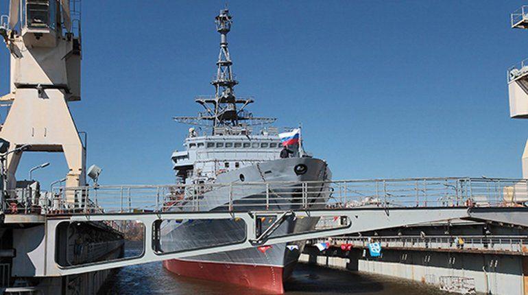 В невской акватории готовят к ходовым испытаниям корабль «Иван Хурс»