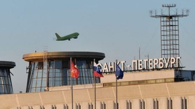 Самолет российской авиакомпании