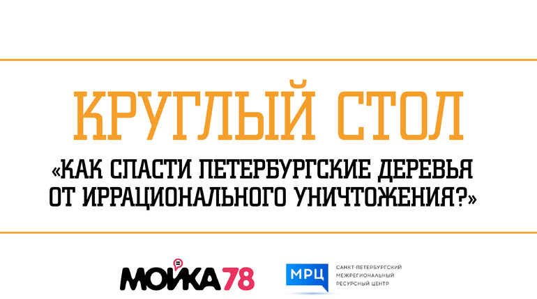 Активисты, эксперты и представители Заксборания собрались, чтобы обсудить проблемы зеленых насаждений в Петербурге. Круглый стол на тему
