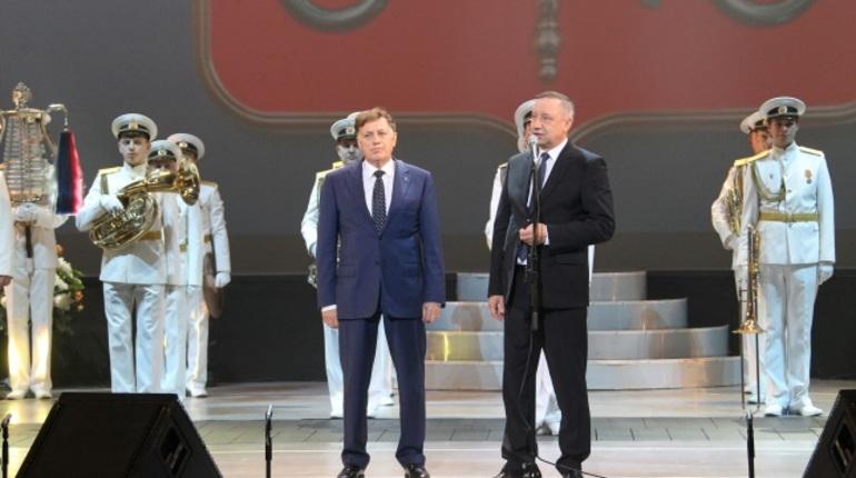 С днем судостроителя поздравили петербургских работников и ветеранов отрасли в среду, 31 октября в БКЗ