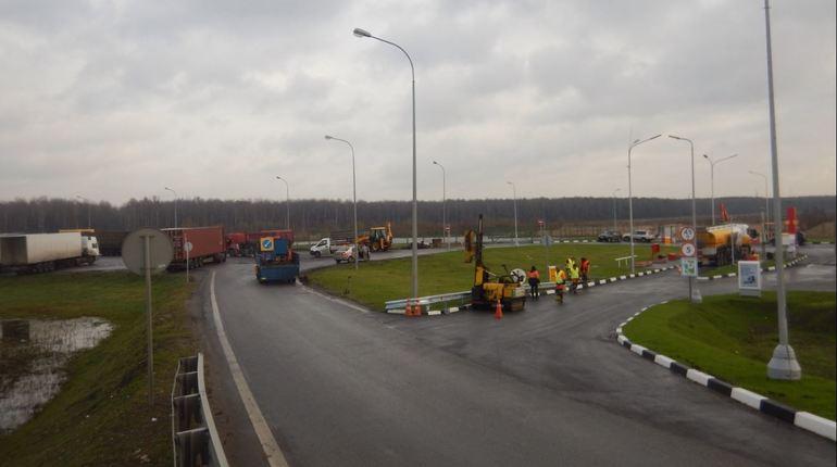 Площадка отдыха для водителей на 87 километре КАД  во Всеволожском районе Ленобласти  в с 5 по 7 ноября будет недоступна для водителей.