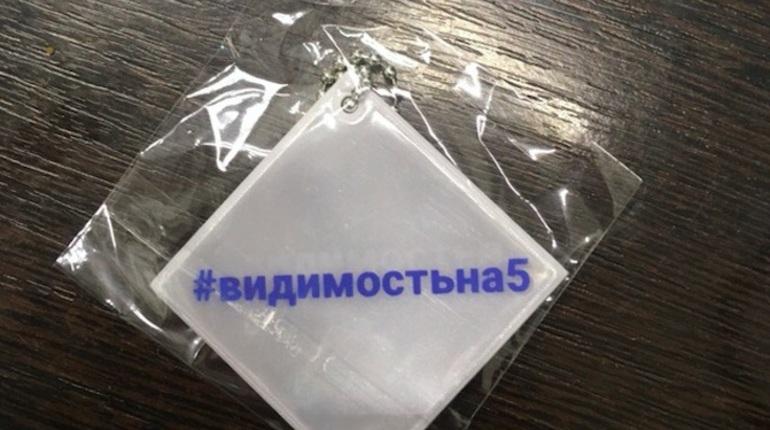 В Петербурге пройдет масштабная акция по раздаче отражателей. В школах города организация автомобилистов