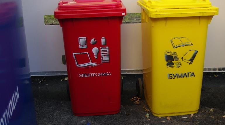 В Петербурге пройдет акция по раздельному сбору мусора. Временные пункты по приему отходов будут работать в субботу, 3 ноября, в 15 районах города.
