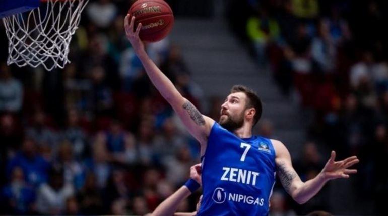 Баскетбольный клуб «Зенит» из Петербурга обыграл красноярский