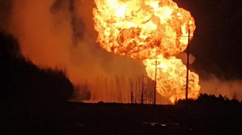 Следователи начали проверку после возгорания на газопроводе
