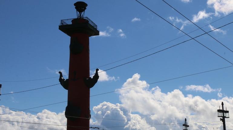 В День народного единства ростральные колонны в Петербурге не будут зажигать. Об этом рассказали корреспонденту