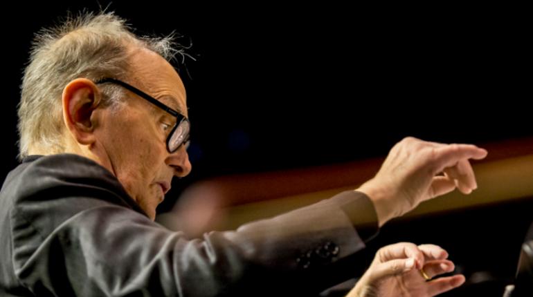 Знаменитый итальянский композитор Эннио Морриконе выступит в Ледовом дворце в рамках мирового турне