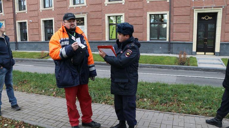 Рыцарей с холодным оружием не пустили на пенсионный митинг в Петербурге