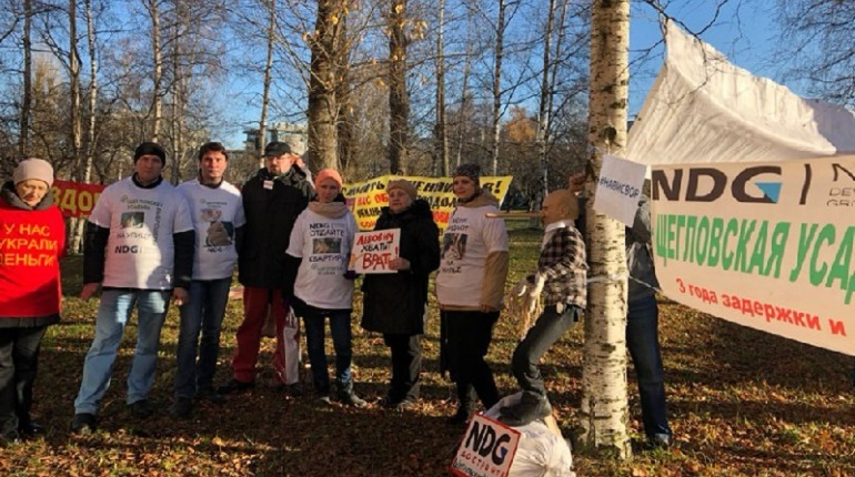 Петербург проигнорировал митинг против феодализма