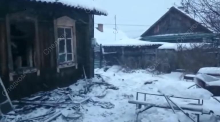 Следственный комитет РФ опубликовал видео с места пожара в городе Юрге Кемеровской области.