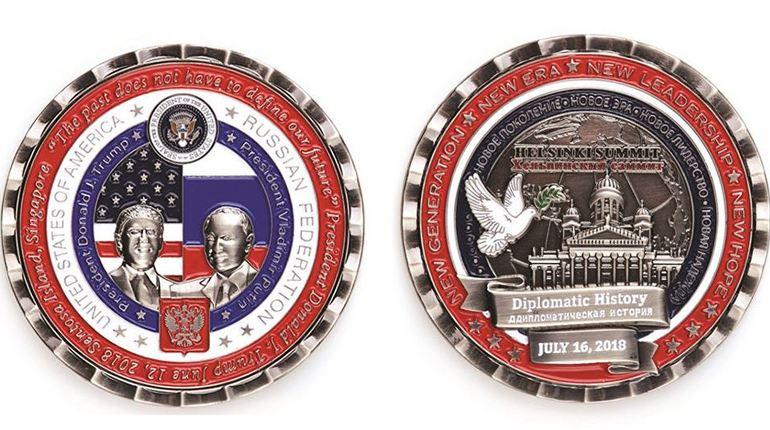 В Соединенных Штатах отчеканили сувенирную монету, которая опозорила американцев, ведь в ней нашли сразу три опечатки. Отметим, что ее посвятили встрече двух государственных лидеров: Владимира Путина и Дональда Трампа.