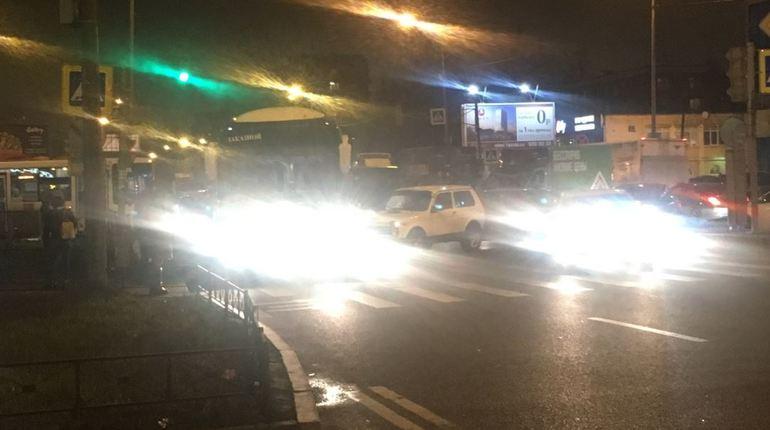 На пересечении бульвара Новаторов и проспекта Ветеранов 6 ноября произошло дорожно-транспортное происшествие,