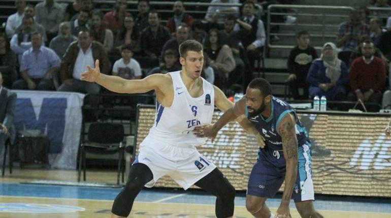 Баскетбольный «Зенит» потерпел поражение от «Тюрк Телекома»