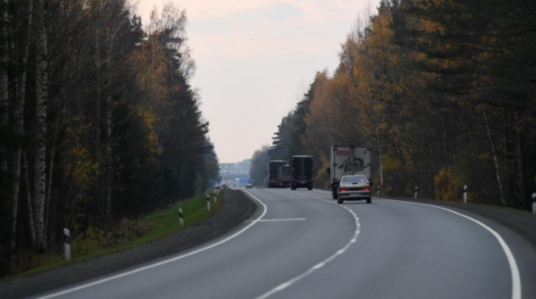 В Подпорожском районе Ленинградской области закончили капитальный ремонт участка региональной трассы