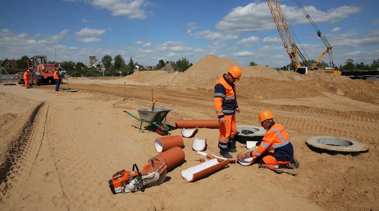 В Приозерском районе Ленобласти началась реконструкция путепровода на 105 километре автодороги А-121 «Сортавала».
