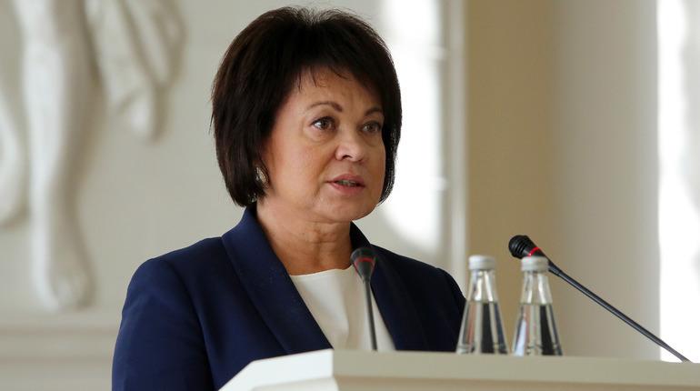 Любовь Совершаева назначена главой аппарата губернатора Петербурга