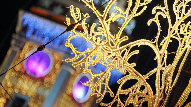 Светящиеся украшения стоимостью 8 млн 902 тыс. рублей появятся в центре Петербурга к Новому году и Рождеству. Изготовить убранства для улиц Северной столицы поручили ООО «Светодизайн».