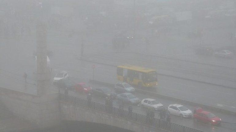 В пятницу, 9 ноября в Петербурге местами ожидается туман. В целом в городе будет облачная погода, местами - морось.