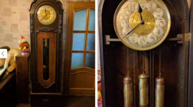 На портале бесплатных объявлений Юла житель Петербурга пытается продать музыкальные напольные часы 19 века. За антикварный предмет продавец рассчитывает получить 4,44 млн рублей.