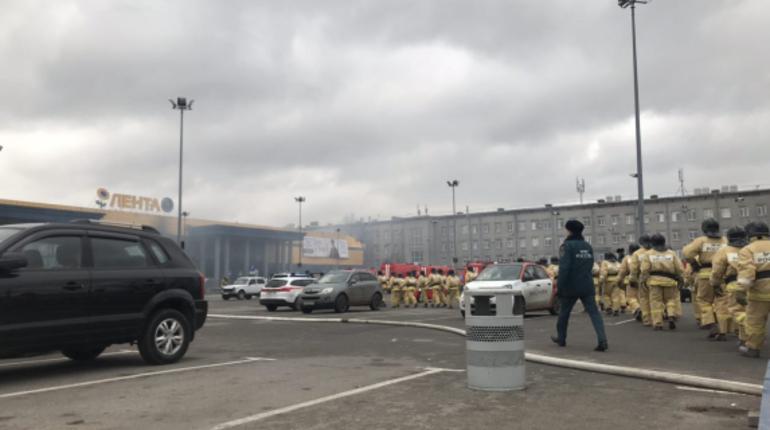 Причины пожара в гипермаркете