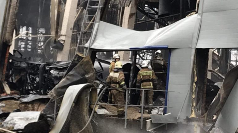 Жители Адмиралтейского района Петербурга расстроены тем, что сгорела